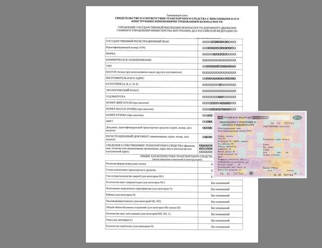 Свидетельство о регистрации ГБО